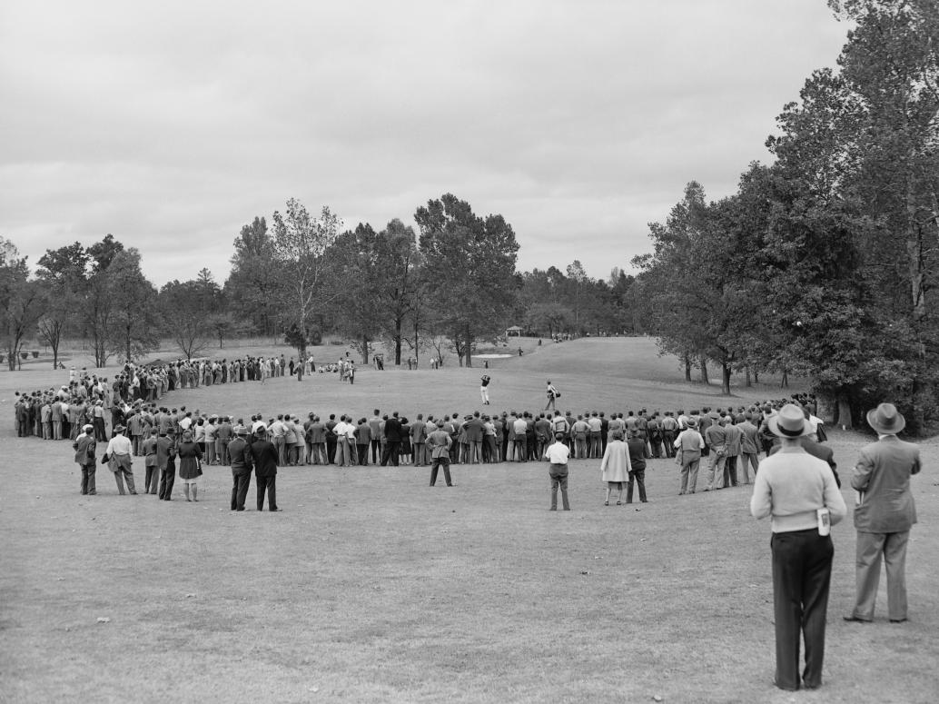 PGA Tournament at Hermitage Country Club 1949
